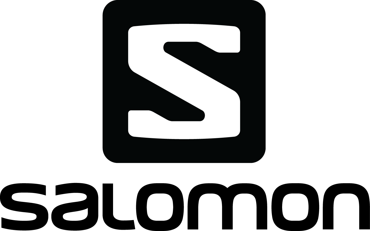 Salomon Logo Black